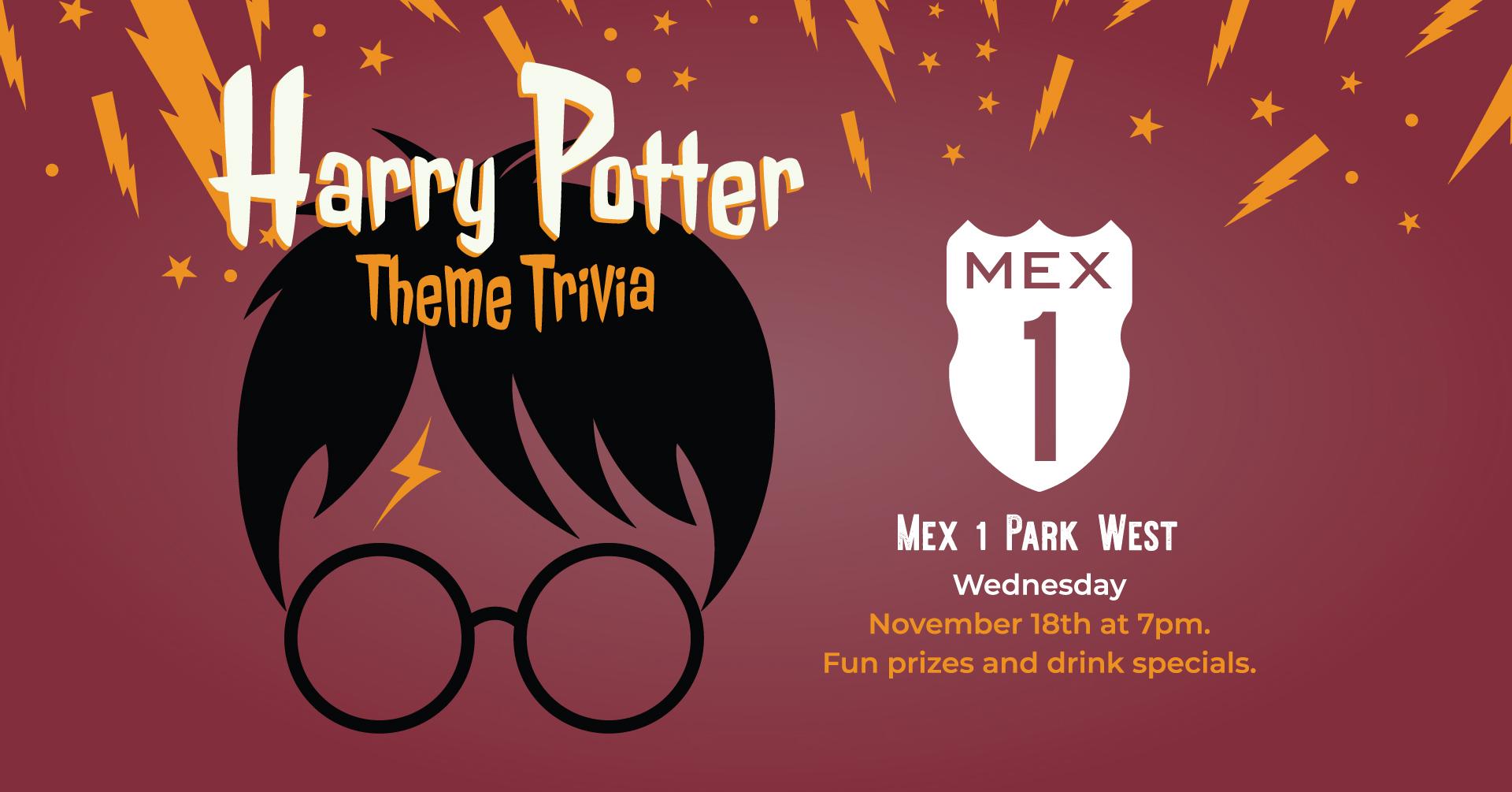 Harry Potter Themed Trivia
