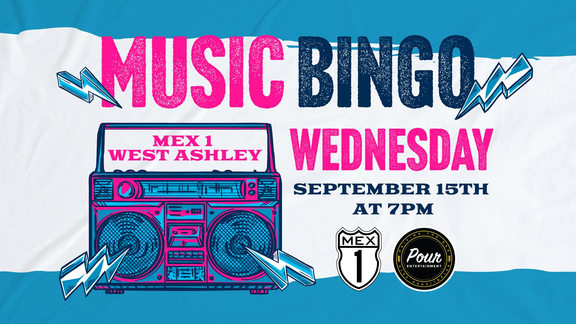 Music Bingo Mex 1 West Ashley
