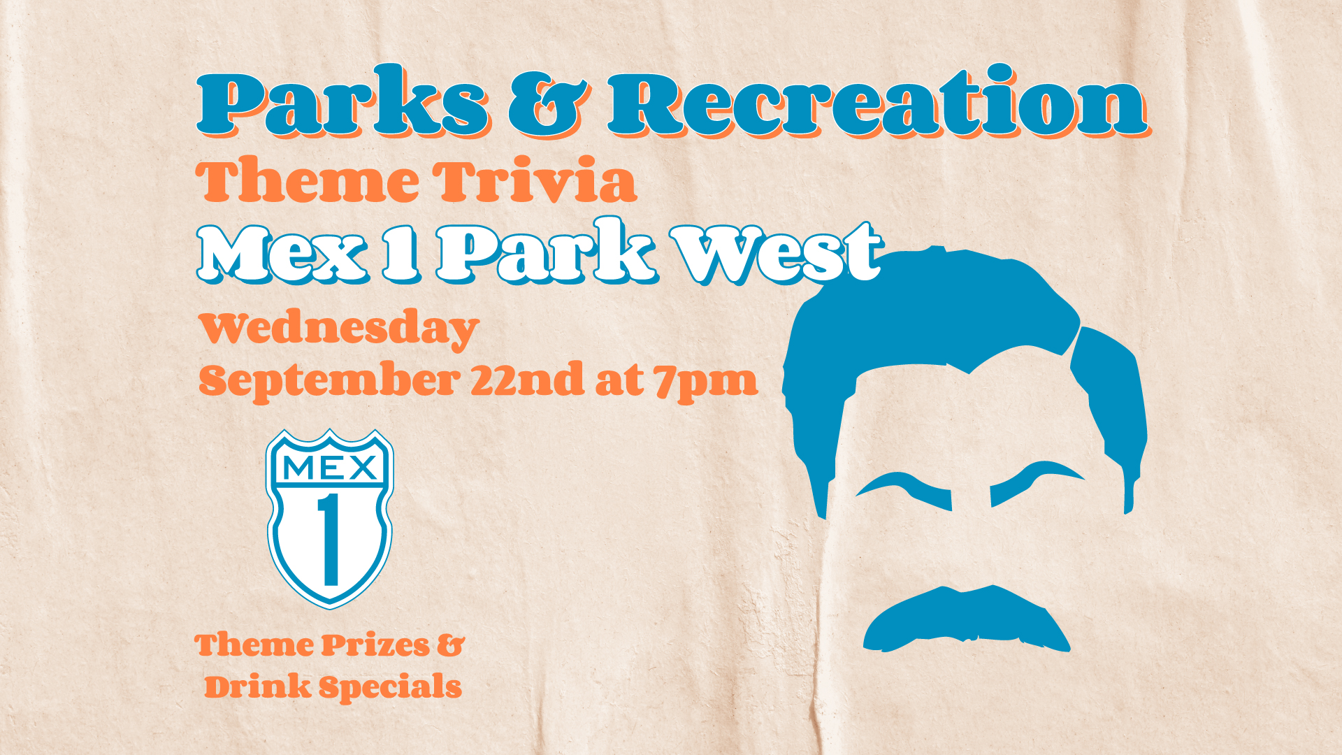 Parks and Rec Themed Trivia at Park West