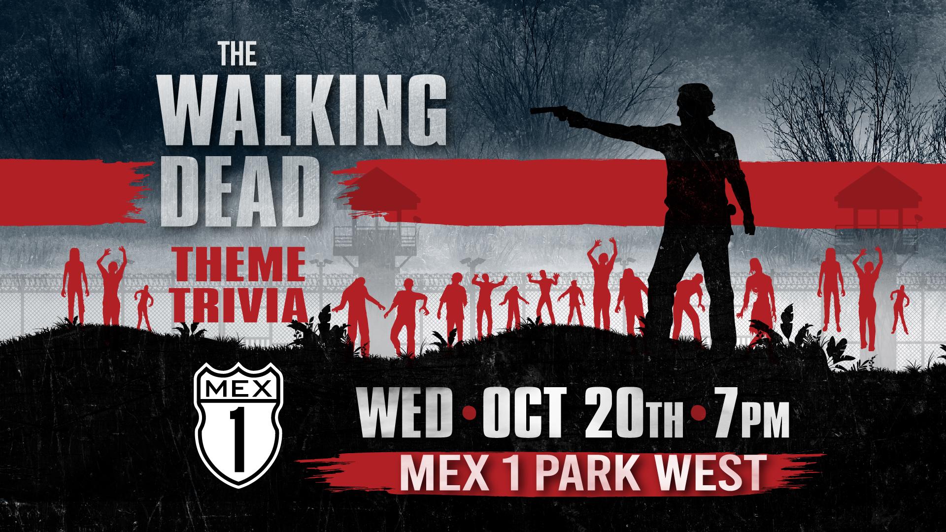 Walking Dead themed trivia