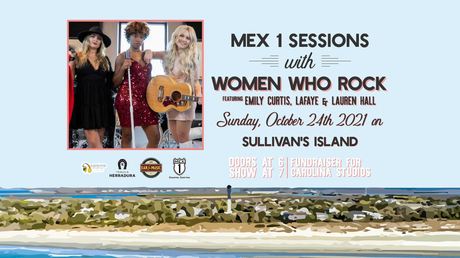 Mex 1 Sessions with Women Who Rock