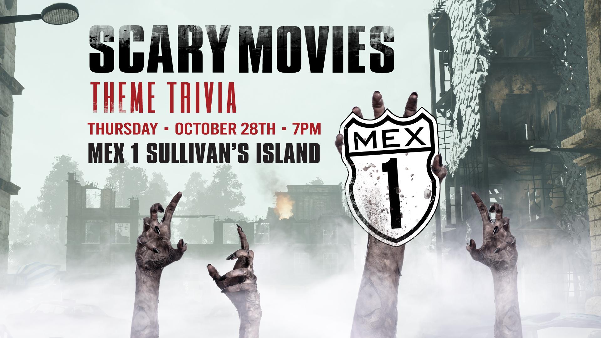 Scary Movies Themed Trivia